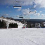 zieleniec wyciąg narciarski