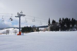 (Polski) zieleniec wyciąg narciarski