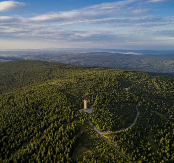 Pomysł na wycieczkę: wieża widokowa Wielka Desztna