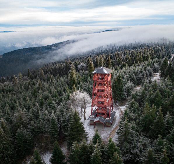 Wieża widokowa na Orlicy